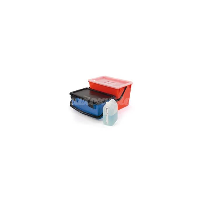 Numatic BK10 zestaw MopMatic: wiadro do nasączania mopów + wiadro do przechowywania zużytych mopów (629113)