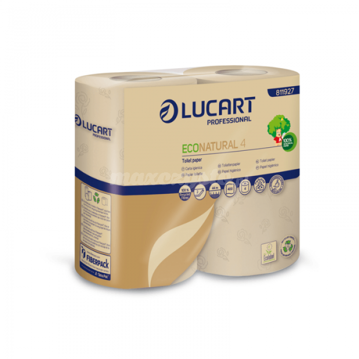 Lucart Eco Natural 4 (811927) Papier Toaletowy