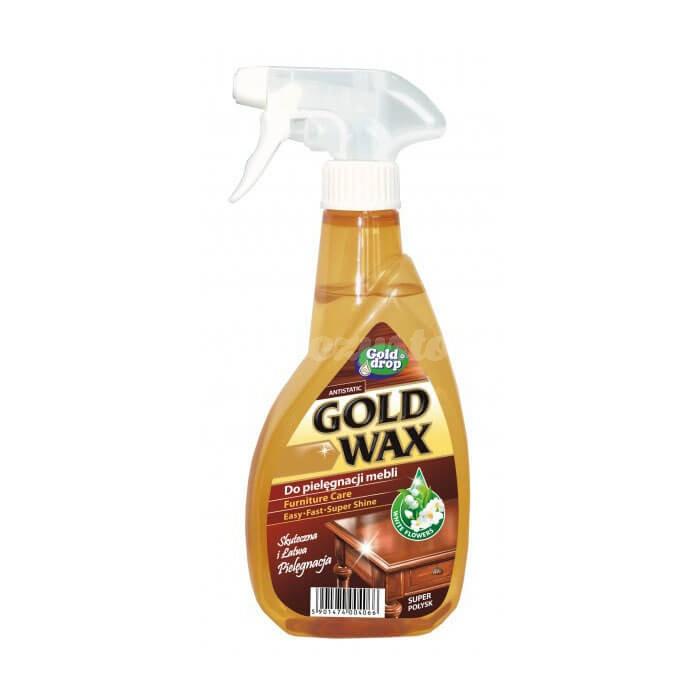 Gold Drop Gold Wax Preparat do pielęgnacji mebli 400ml