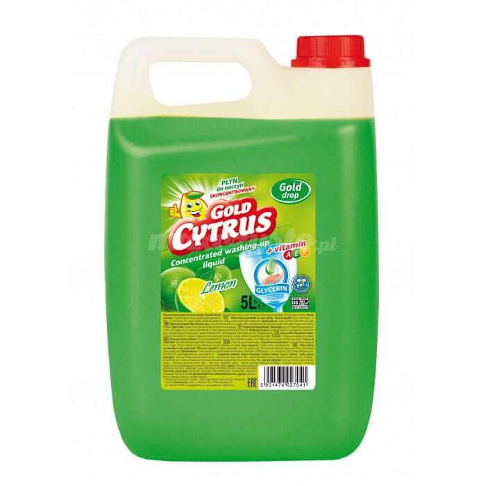 Gold Drop Gold Cytrus Płyn do mycia naczyń 5L (lemon)