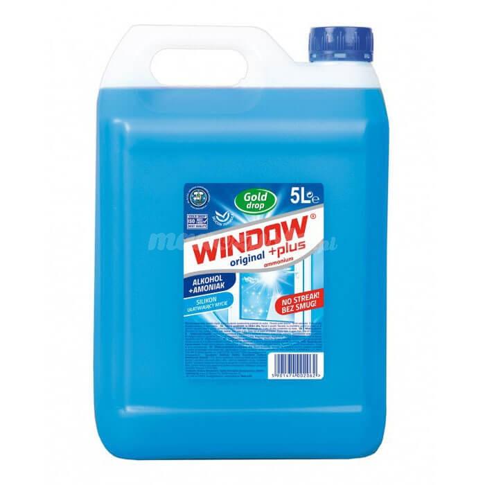 Gold Drop Window Plus Płyn do mycia szyb i luster 5L (ammonium)