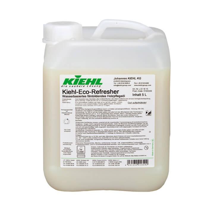 Kiehl Eco Refresher 5L Olej do pielęgnacji drewna na bazie wodnej, tworzący film