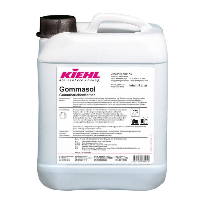 Kiehl Gommasol 5L Płyn do usuwania zarysowań po gumie