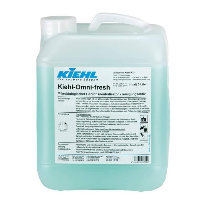 Kiehl Omni Fresh 5L Mikrobiologiczny neutralizator zapachu aktywnie myjący