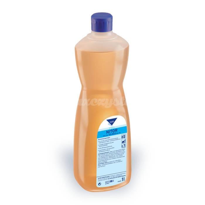 Kleen Nitor 1L Silnie alkaliczny, specjalistyczny środek do czyszczenia powierzchni twardych