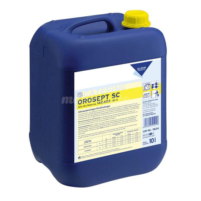 Kleen Orosept SC 10L chlorowo-zasadowy środek do higienicznego czyszczenia