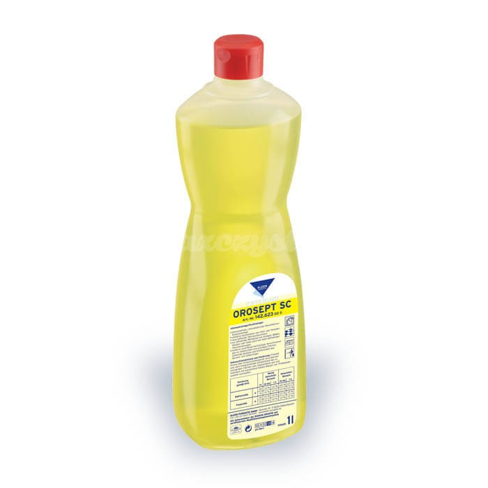 Kleen Orosept SC 1L chlorowo-zasadowy środek do higienicznego czyszczenia