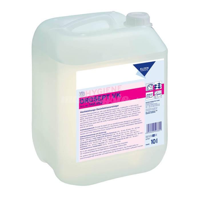 Kleen Orosept VK 10L Środek do bieżącego mycia i dezynfekcji pomieszczeń i urządzeń