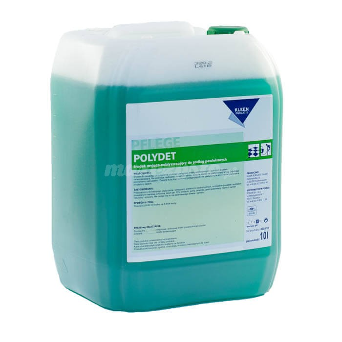 Kleen Polydet 10L środek myjąco-nabłyszczający do podłóg powlekanych