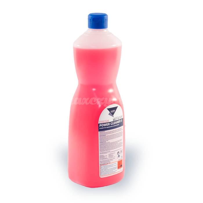Kleen Power Cleaner S 1L Silny środek czyszczący na bazie kwasu, usuwający pozostałości cementu