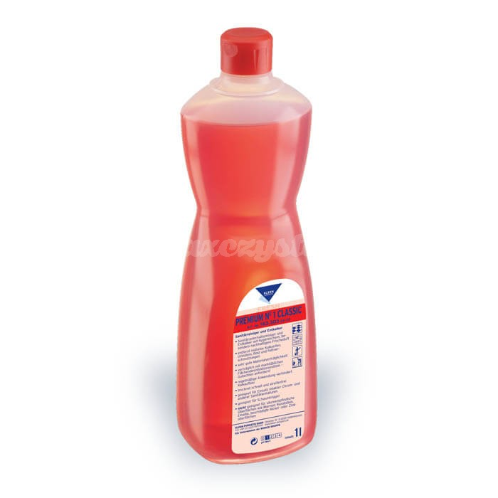 Kleen Premium No1 Classic 1L zapachowy środek do czyszczenia sanitariatów, usuwający kamień