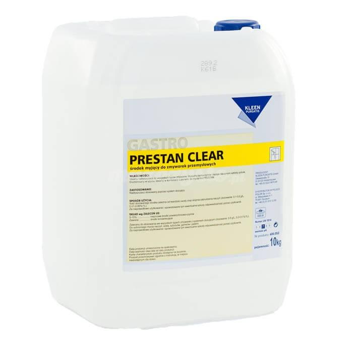 Kleen Prestan Clear 12kg neutralny, nabłyszczający środek płuczący do zmywarek