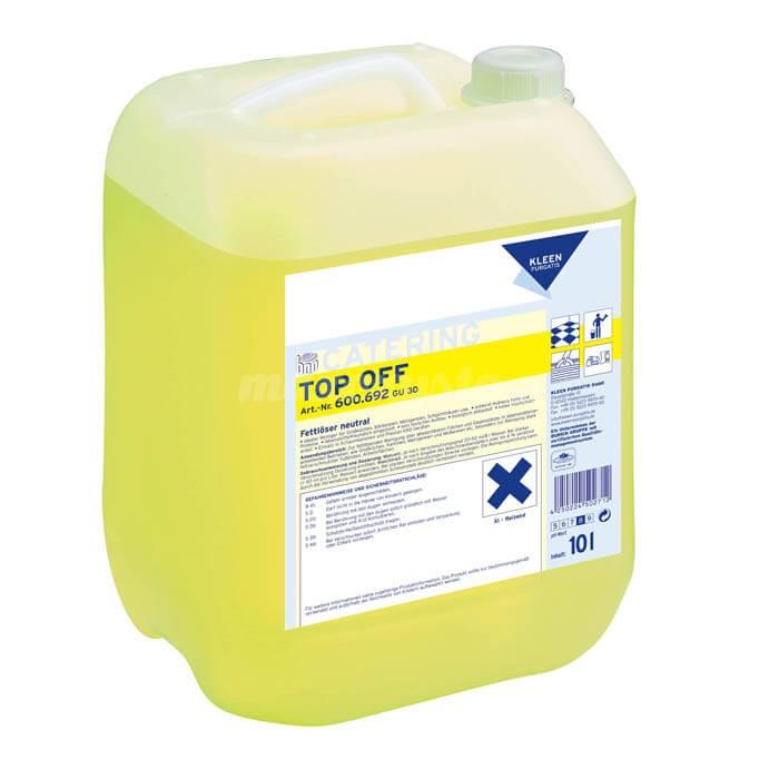 Kleen Top Off 10L środek myjący, rozpuszczający tłuszcze