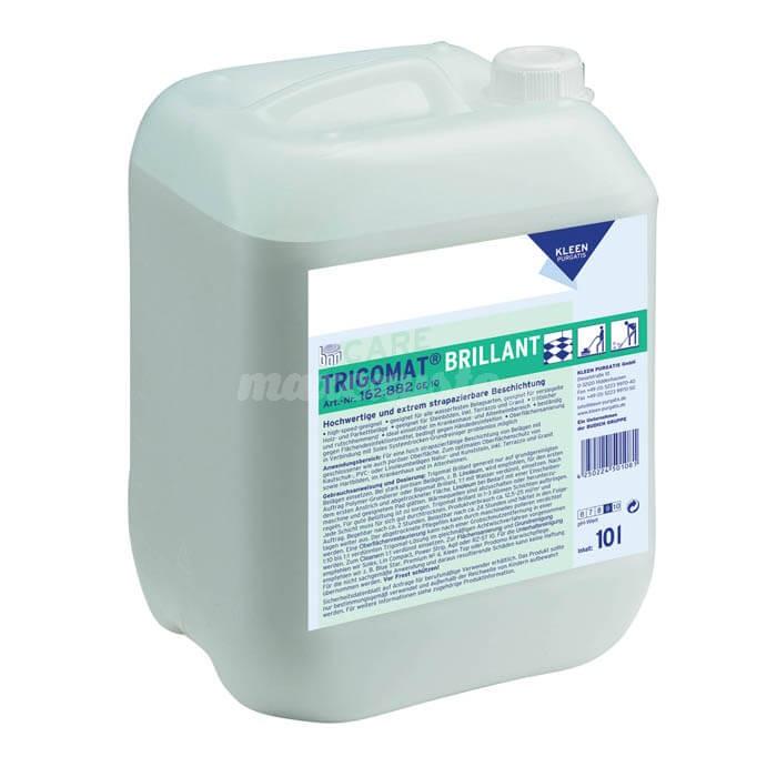 Kleen Trigomat Brillant 10L odpornym na ścieranie oraz działanie środków dezynfekujących