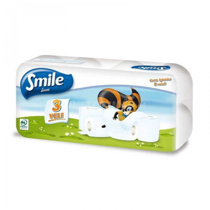Lucart Smile 8 (811643) Papier Toaletowy