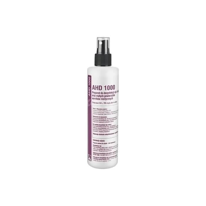 Medilab AHD 1000 250ml Alkoholowy płyn do dezynfekcji rąk i skóry