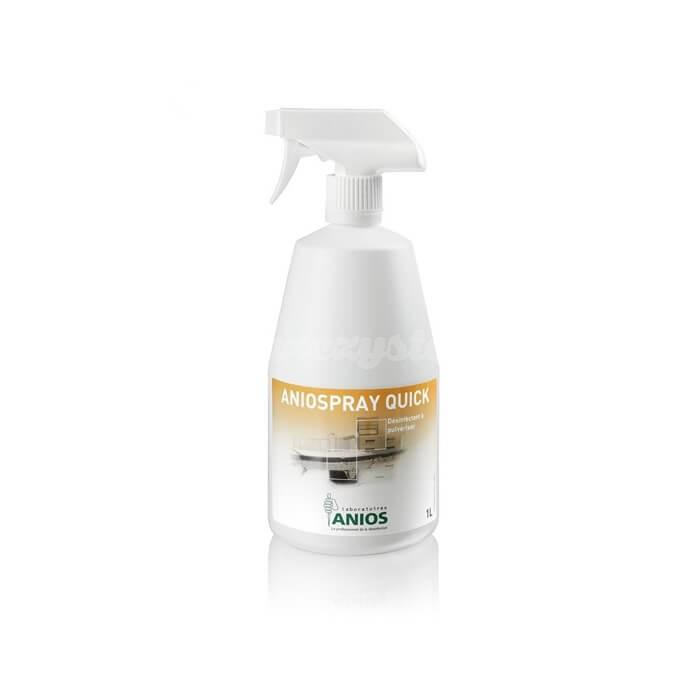 Medilab Aniospray Quick 1L do szybkiej dezynfekcji wyrobów medycznych