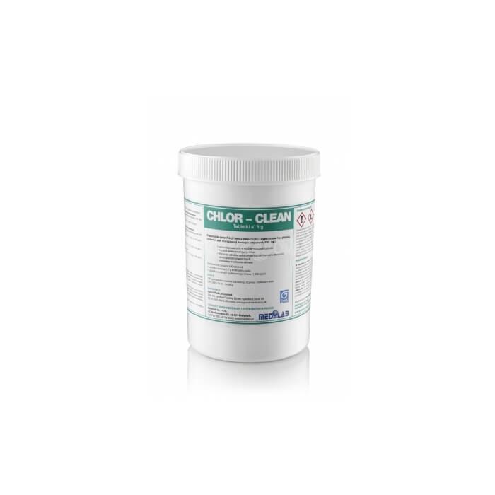 Medilab Chlor-Clean 200 Tabletek o działaniu sporobójczym do dezynfekcji i mycia  powierzchni