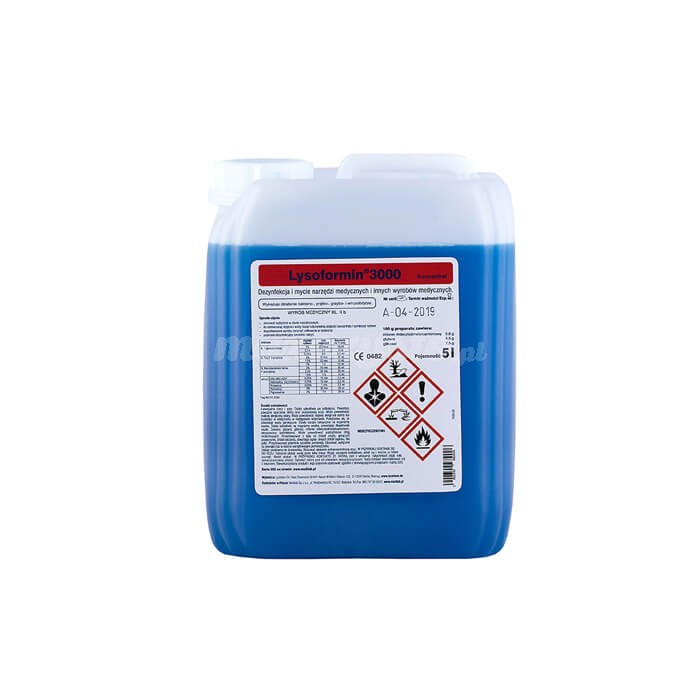 Medilab Lysoformin 3000 5L do manualnej dezynfekcji i mycia narzędzi