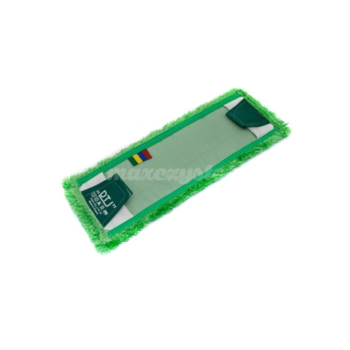 Mop Mikrofaza 40cm Zielony Uniwersalny (Kieszeń / Klips)