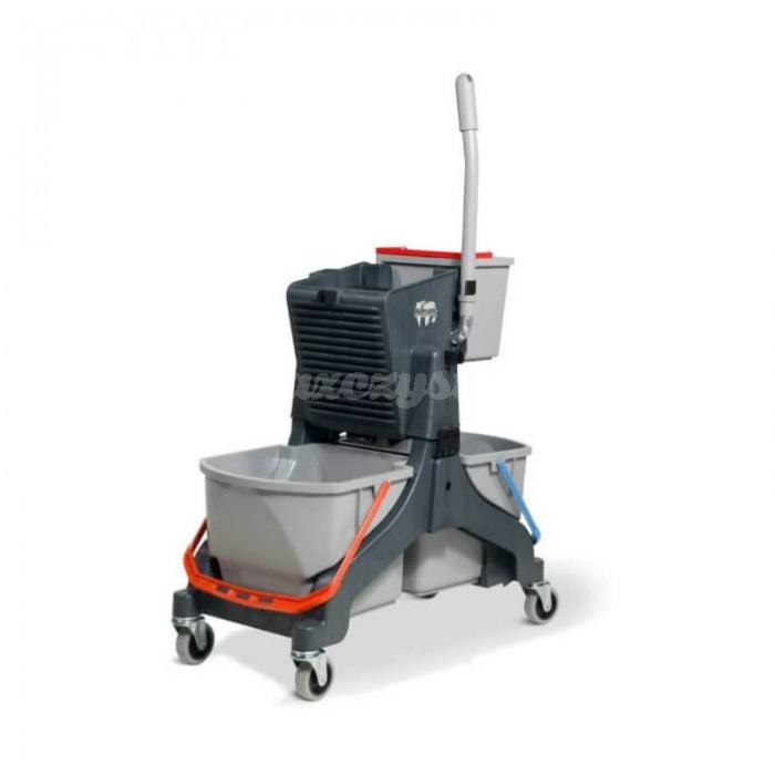 Wózek do sprzątania dwuwiaderkowy Numatic MMT 1616 NOWY MODEL (szary)