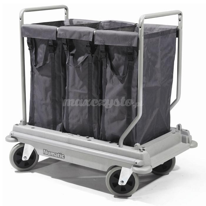 Numatic NB-3003 Nu-Bag Systems wózek hotelowy na pościel