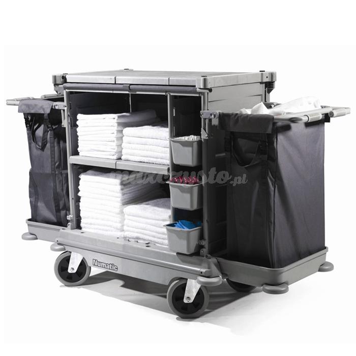 Numatic NKL-17 HF NuKeeper Systems profesjonalny wózek hotelowy