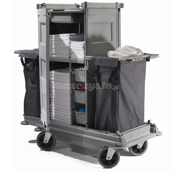 Numatic NKS-12 HF / FF NuKeeper Systems Profesjonalny wózek hotelowy