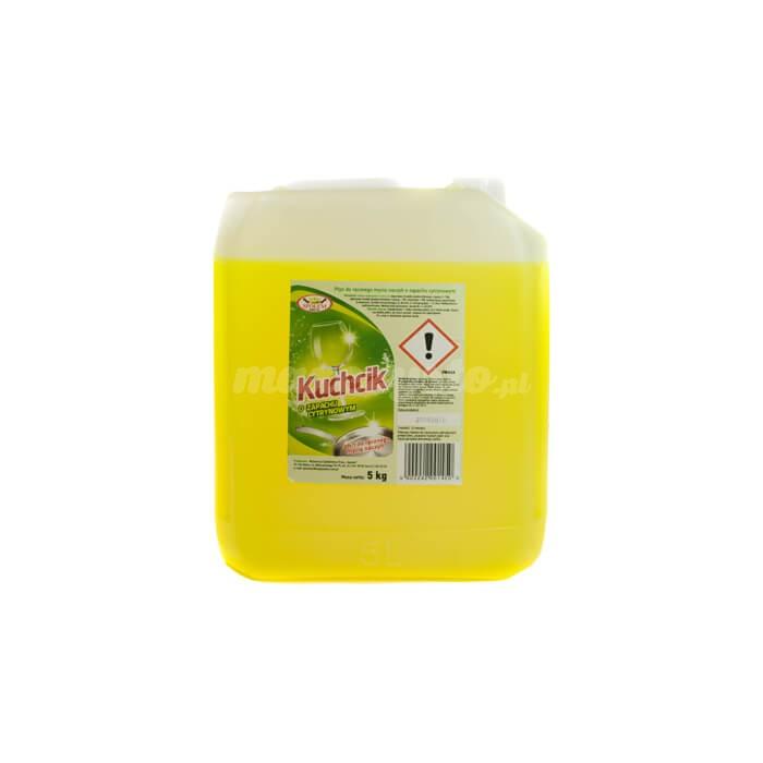 Kuchcik Płyn do ręcznego mycia naczyń o zapachu cytrynowym 5L