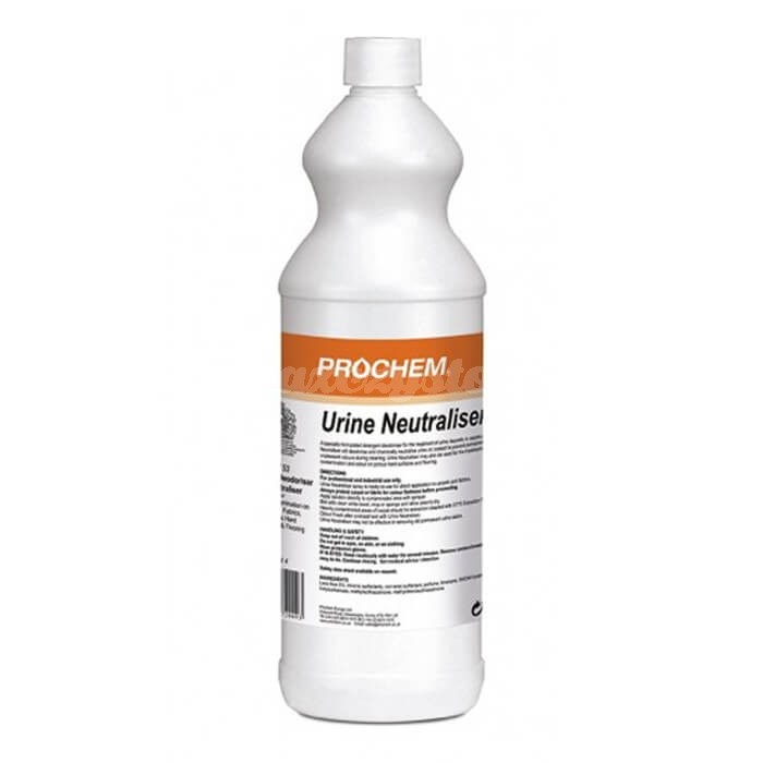 Prochem Urine Neutraliser 1L usuwa zapach i neutralizuje chemicznie mocz