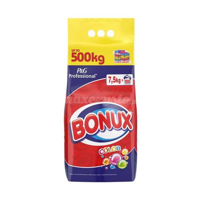 Profesjonalny proszek do prania Bonux Expert Color 7,5 kg 100 prań