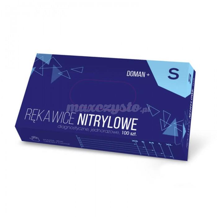 Rękawice Diagnostyczne Nitrylowe DOMAN+