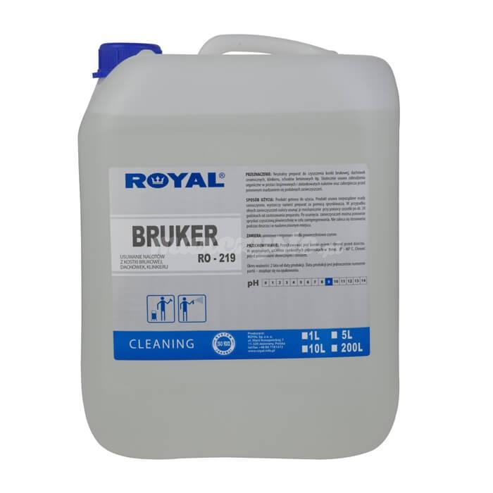 Royal RO-219 Bruker 5L Neutralny preparat do czyszczenia kostki brukowej