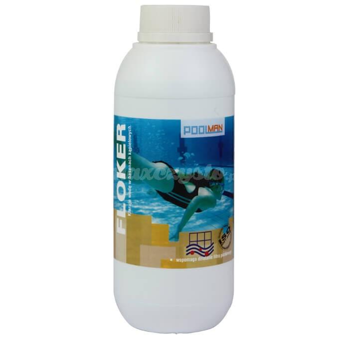 Royal FLOKER 1L przeznaczony jest do klarowania wody basenowej