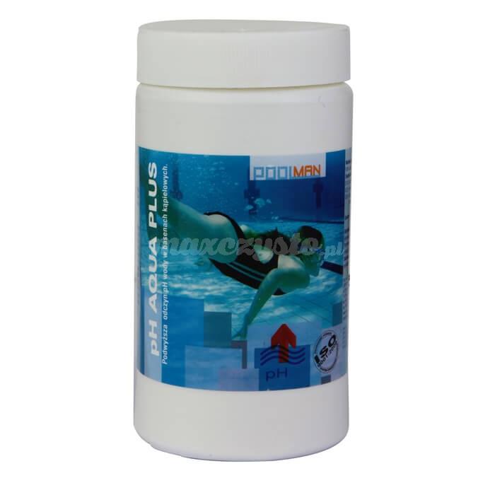 Royal pH AQUA PLUS 1L przeznaczony jest do podwyższania pH wody w basenach