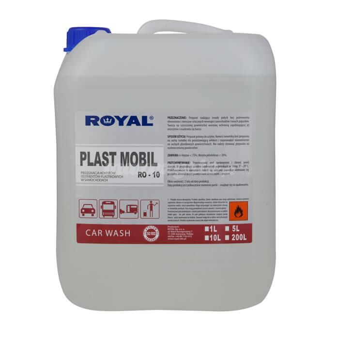 Royal RO- 10 Plast Mobil 5L Preparat nadający trwały połysk bez polerowania