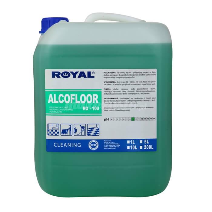 Royal RO-100 Alcofloor 5L środek myjąco-pielęgnujący na bazie alkoholu