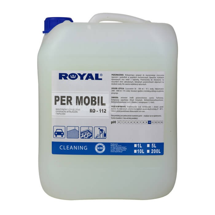Royal RO-112 Per Mobil 5L preparat do maszynowego czyszczenia tapicerek