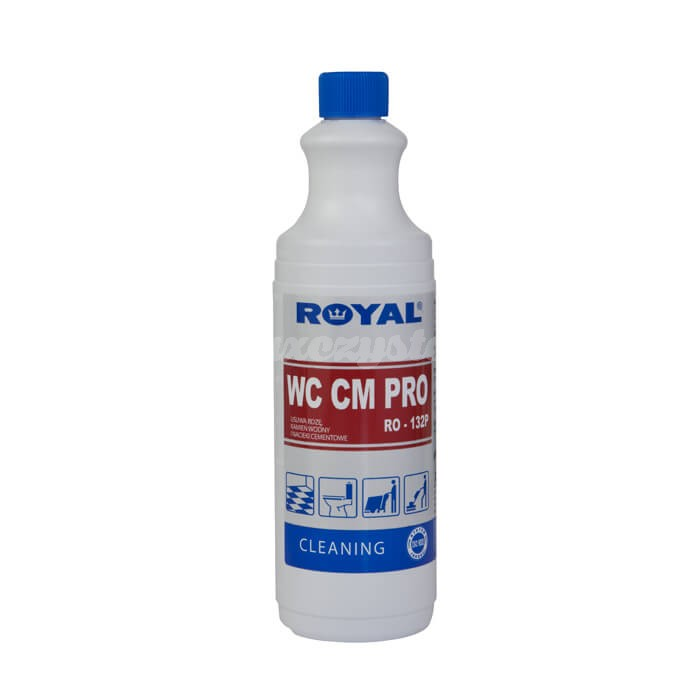 Royal RO-132P WC CM PRO 1L Preparat do profesjonalnego usuwania rdzy, cementu, kamienia