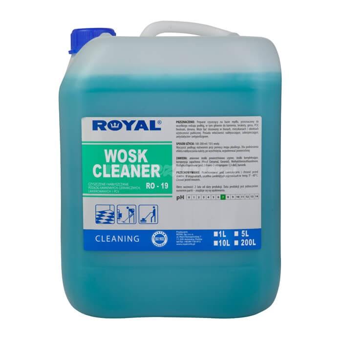 Royal RO-19 Wosk Cleaner 5L Preparat czyszcząco - woskujący na bazie mydła