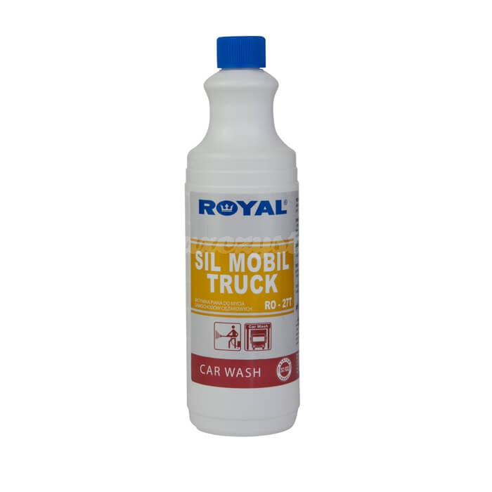 Royal RO-27T SIL MOBIL TRUCK 1L Silny preparat do mycia bardzo zanieczyszczonych powierzchni