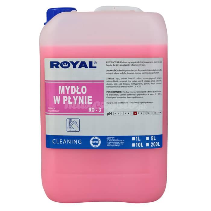 Royal RO-3 Mydło w Płynie 5L Mydło do rąk i ciała