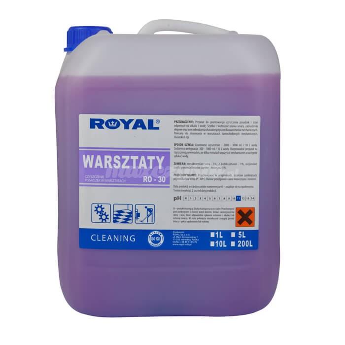 Royal RO-30 Warsztaty 5L Preparat do gruntownego czyszczenia posadzek