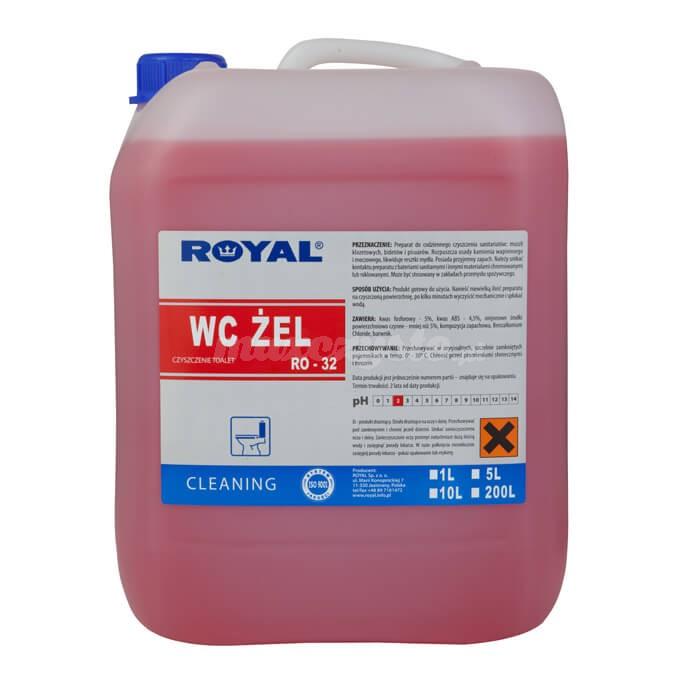 Royal RO-32 WC ŻEL 5L Preparat do codziennej pielęgnacji sanitariatów