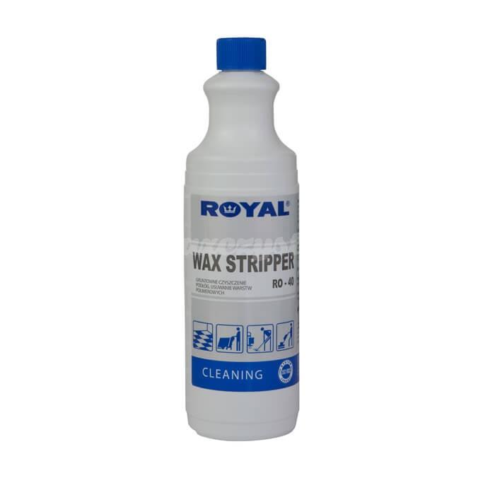 Royal RO-40 WAX STRIPPER 1L Niskopieniący preparat do gruntownego czyszczenia podłóg