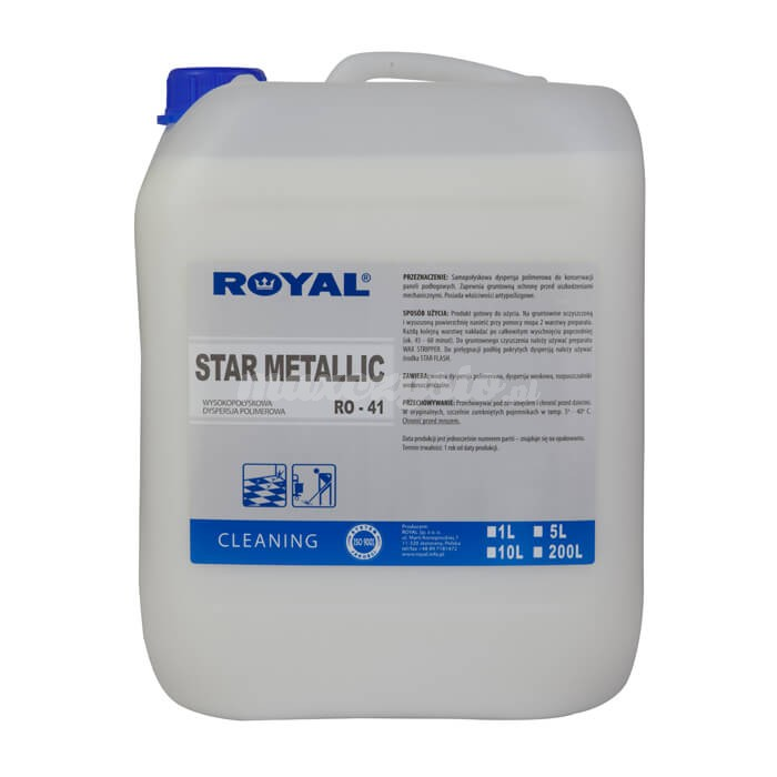 Royal RO-41 Star Metallic 5L do konserwacji różnego typu podłoży