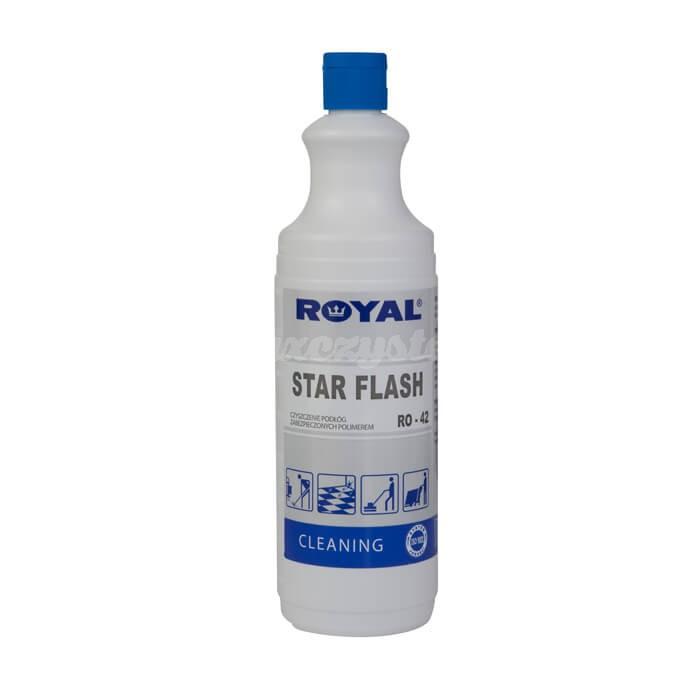 Royal RO-42 Star Flash 1L Preparat na bazie polimerów do mycia i pielęgnacji podłóg