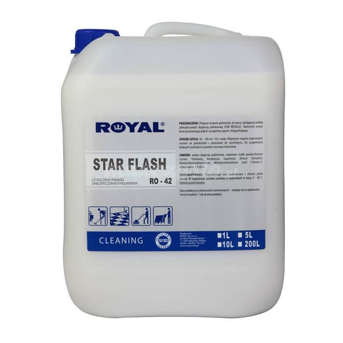 Royal RO-42 Star Flash 5L Preparat na bazie polimerów do mycia i pielęgnacji podłóg