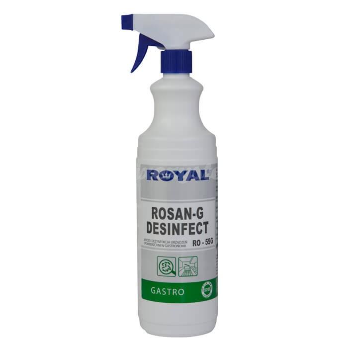 Royal RO-55G ROSAN-G DESINFECT 1L Preparat o działaniu antybakteryjnym