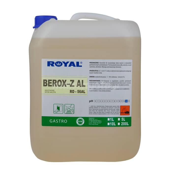 Royal RO-56AL BEROX-Z AL 10L Koncentrat do maszynowego mycia naczyń